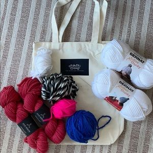 Yarn bundle +tote bag